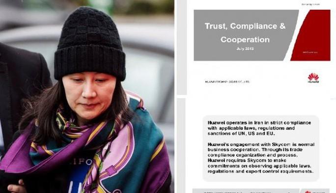 Mỹ tung chứng cứ buộc tội giám đốc tài chính Huawei - Ảnh 1.
