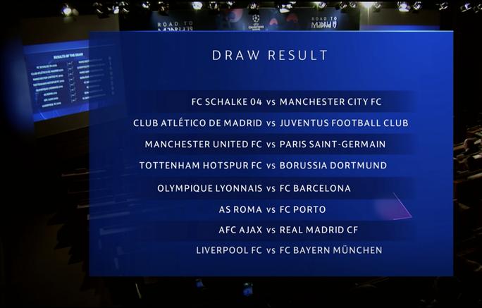 Vòng 1/8 Champions League: Liverpool đại chiến Bayern Munich, M.U gặp PSG - Ảnh 3.