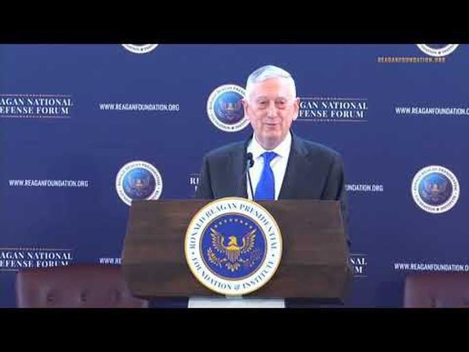 Ông Mattis tố Nga can thiệp bầu cử giữa kỳ Mỹ - Ảnh 1.