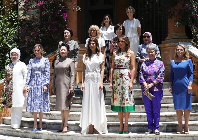 Đệ nhất phu nhân Mỹ-Trung đọ thời trang tại G20 - Ảnh 2.