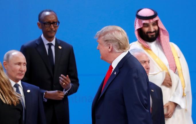 Ông Putin tiết lộ cuộc nói chuyện ngắn với ông Trump ở G20 - Ảnh 2.