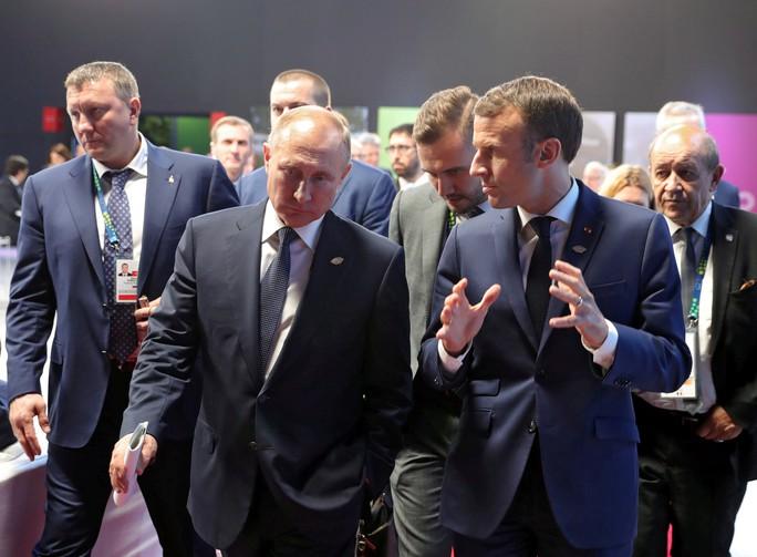 Ông Putin tiết lộ cuộc nói chuyện ngắn với ông Trump ở G20 - Ảnh 4.