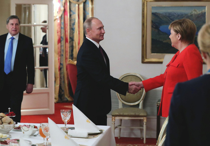 Ông Putin tiết lộ cuộc nói chuyện ngắn với ông Trump ở G20 - Ảnh 3.