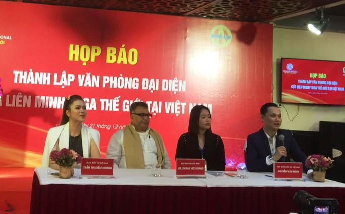 Liên minh Yoga thế giới lập văn phòng đại diện tại Việt Nam - Ảnh 1.