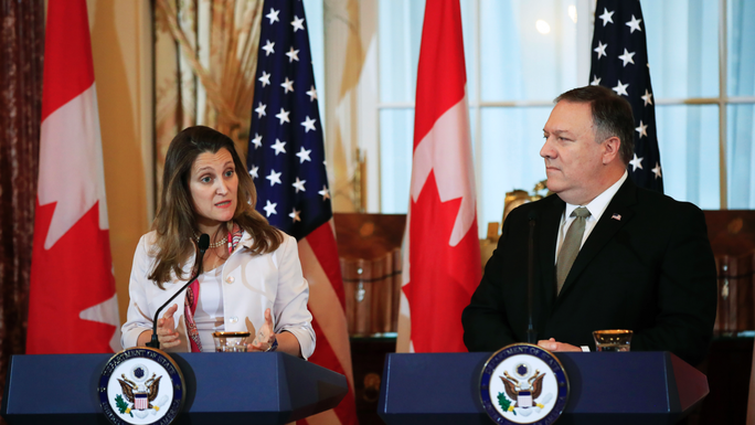 """Canada - Mỹ yêu cầu Trung Quốc thả người """"ngay lập tức"""" - Ảnh 1."""