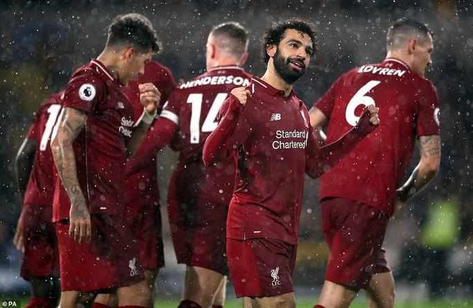 Mo Salah tỏa sáng, Liverpool tiến sát ngôi vô địch mùa Đông - Ảnh 5.