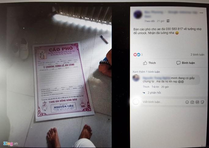 Đánh sập Facebook cá nhân bằng giấy chứng tử tại Việt Nam - Ảnh 1.