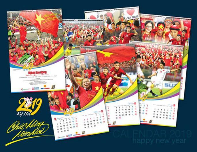 Báo Người Lao Động phát hành bộ lịch Mừng chiến thắng AFF Cup 2018 - Ảnh 2.