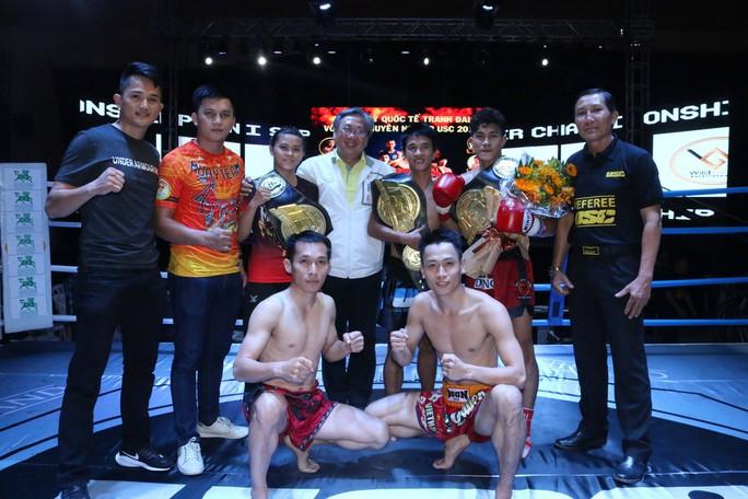 Nguyễn Trần Duy Nhất đoạt đai vô địch từ võ sĩ Thái Lan  - Ảnh 1.