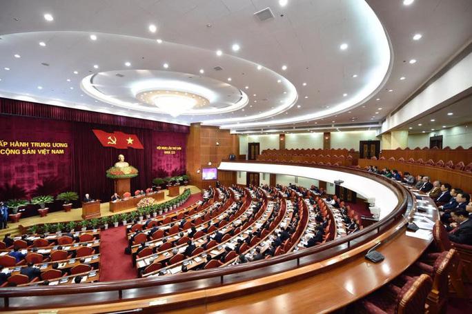 Cận cảnh khai mạc Hội nghị Trung ương 9 - Ảnh 10.