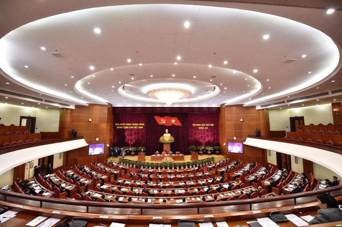 Cận cảnh khai mạc Hội nghị Trung ương 9 - Ảnh 13.
