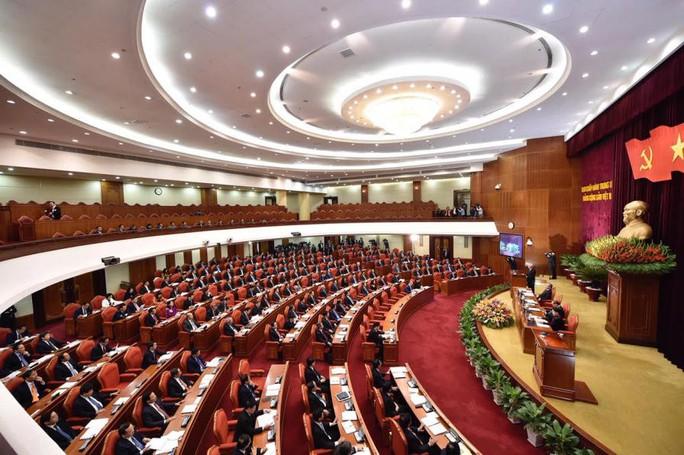 Cận cảnh khai mạc Hội nghị Trung ương 9 - Ảnh 1.