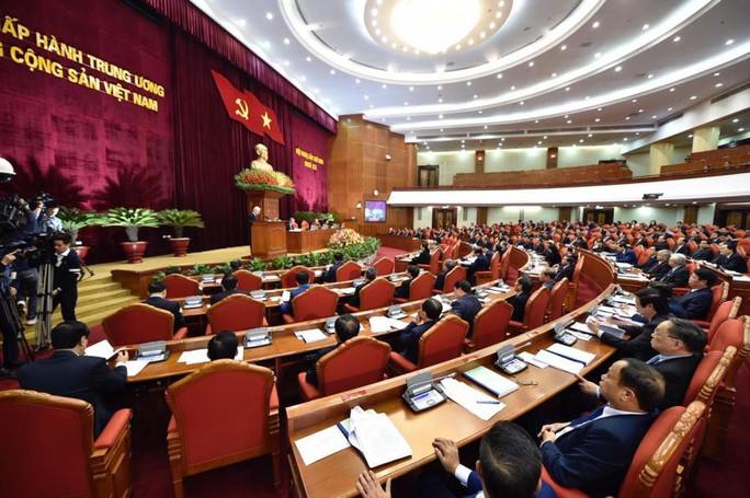 Cận cảnh khai mạc Hội nghị Trung ương 9 - Ảnh 8.