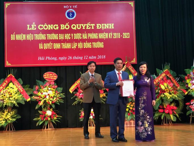 PGS Nguyễn Văn Khải trúng tuyển Hiệu trưởng ĐH Y dược Hải Phòng với điểm cao nhất - Ảnh 1.