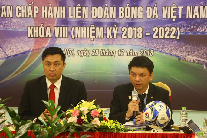 Ông Trần Quốc Tuấn tiếp tục làm Phó chủ tịch Thường trực VFF - Ảnh 1.