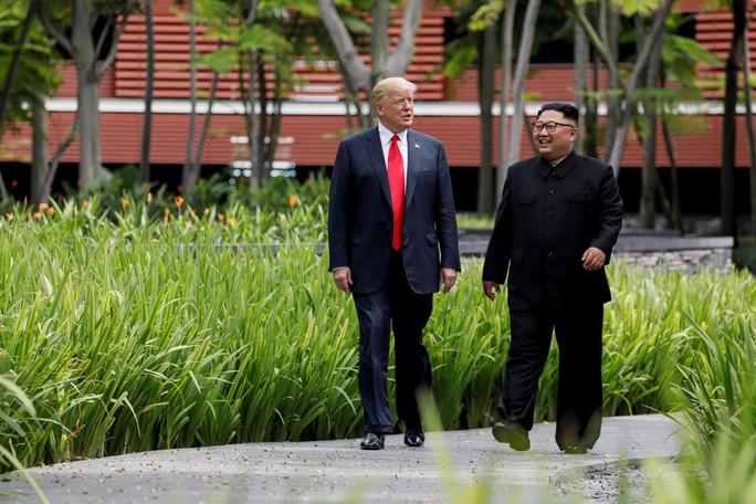 Tiết lộ bất ngờ về quan điểm của ông Trump đối với ông Kim Jong-un - Ảnh 1.