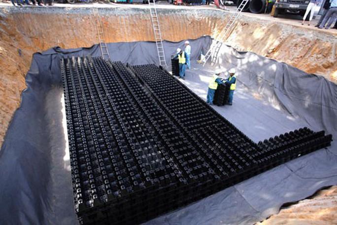 TP HCM đề xuất xây 6 hồ điều tiết ngầm - Ảnh 1.