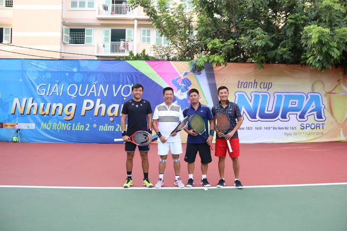 Giải quần vợt phong trào có tổng tiền thưởng 100 triệu đồng - Ảnh 8.