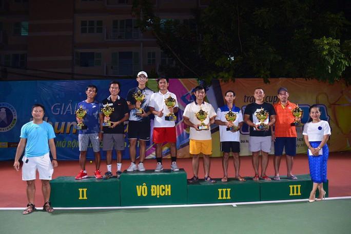 Giải quần vợt phong trào có tổng tiền thưởng 100 triệu đồng - Ảnh 6.