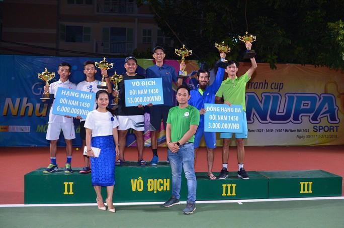 Giải quần vợt phong trào có tổng tiền thưởng 100 triệu đồng - Ảnh 5.