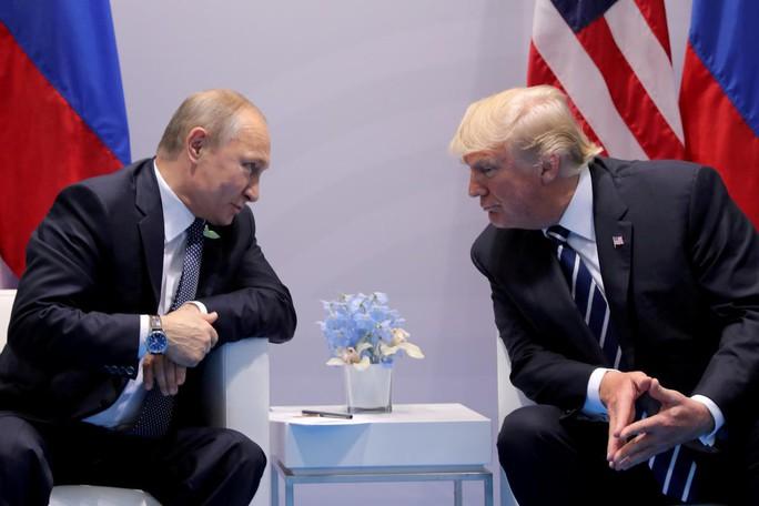 Ông Putin gửi thư mừng năm mới cho ông Trump, ngỏ ý đối thoại - Ảnh 1.