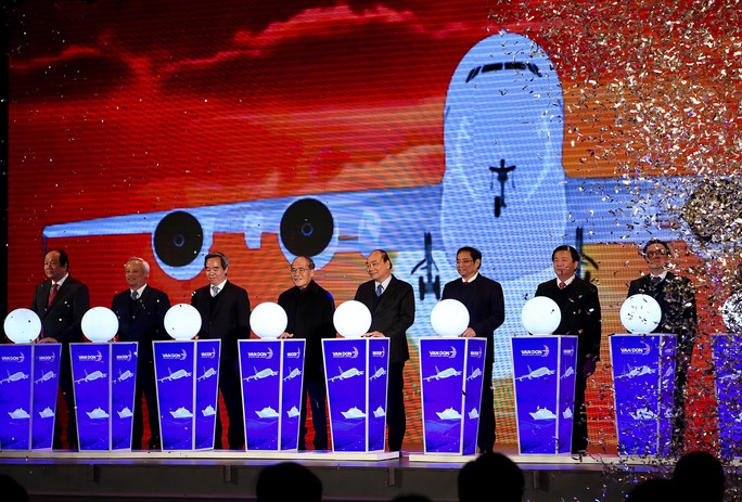 Khai trương sân bay quốc tế Vân Đồn, đón siêu máy bay Boeing 787 từ TP HCM - Ảnh 4.