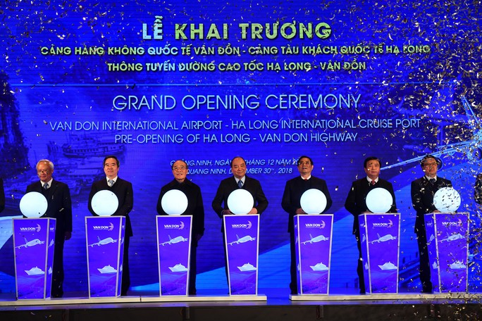 Khai trương sân bay quốc tế Vân Đồn, đón siêu máy bay Boeing 787 từ TP HCM - Ảnh 19.
