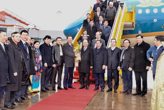 Khai trương sân bay quốc tế Vân Đồn, đón siêu máy bay Boeing 787 từ TP HCM - Ảnh 9.