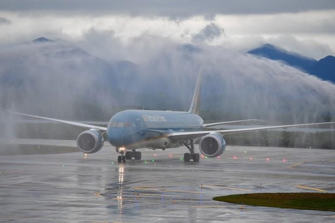 Khai trương sân bay quốc tế Vân Đồn, đón siêu máy bay Boeing 787 từ TP HCM - Ảnh 12.