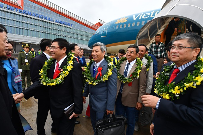 Khai trương sân bay quốc tế Vân Đồn, đón siêu máy bay Boeing 787 từ TP HCM - Ảnh 16.