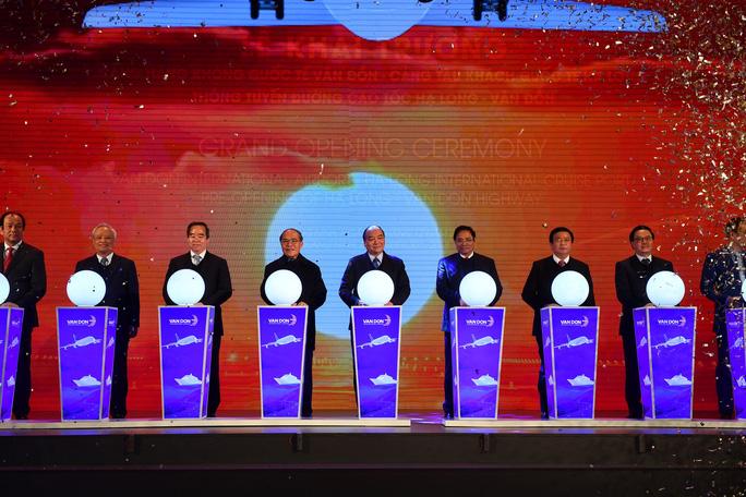 Khai trương sân bay quốc tế Vân Đồn, đón siêu máy bay Boeing 787 từ TP HCM - Ảnh 20.