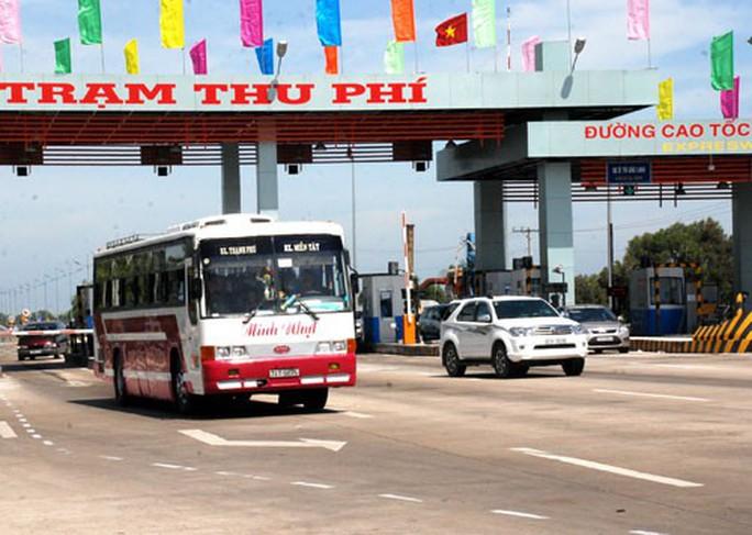 Ngày 1-1-2019 tạm dừng thu phí cao tốc TP HCM-Trung Lương - Ảnh 1.