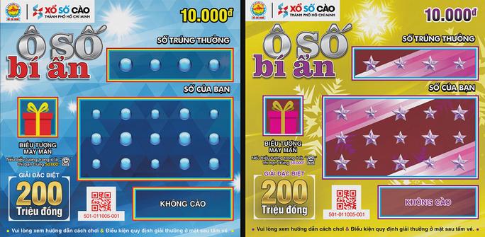 Xổ số Kiến Thiết TP HCM phát hành vé cào trúng ngay 500 triệu đồng - Ảnh 1.