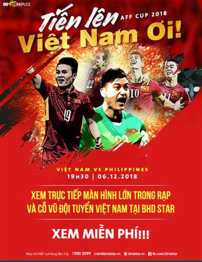 Đến Cung Văn hóa Lao động xem trận Việt Nam - Philippines - Ảnh 1.