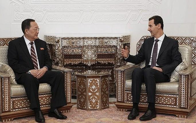 Triều Tiên xác định có chung kẻ thù với Syria - Ảnh 1.