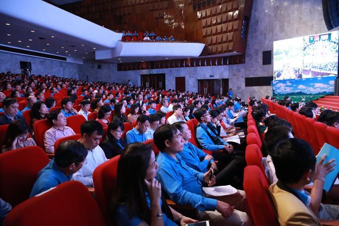 Hội nghị trực tuyến toàn quốc học tập, quán triệt Nghị quyết Đại hội XII Công đoàn Việt Nam - Ảnh 2.