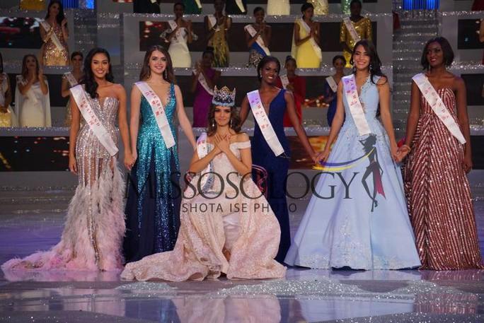 Người đẹp Mexico đăng quang Hoa hậu Thế giới 2018 - Ảnh 1.