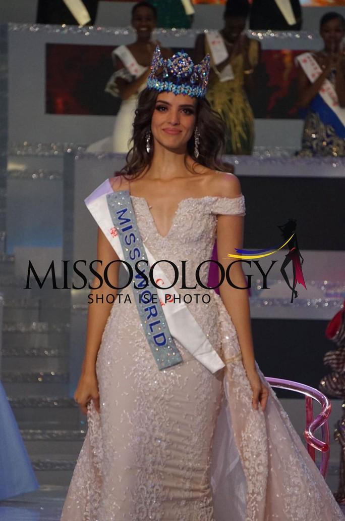 Người đẹp Mexico đăng quang Hoa hậu Thế giới 2018 - Ảnh 3.