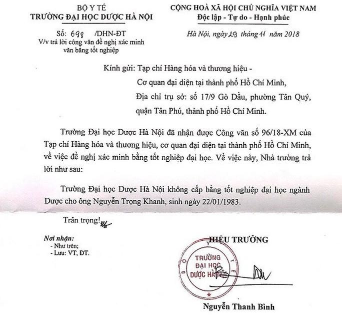 Phó Chủ tịch Hiệp hội Chống hàng giả Việt Nam dùng bằng giả? - Ảnh 2.