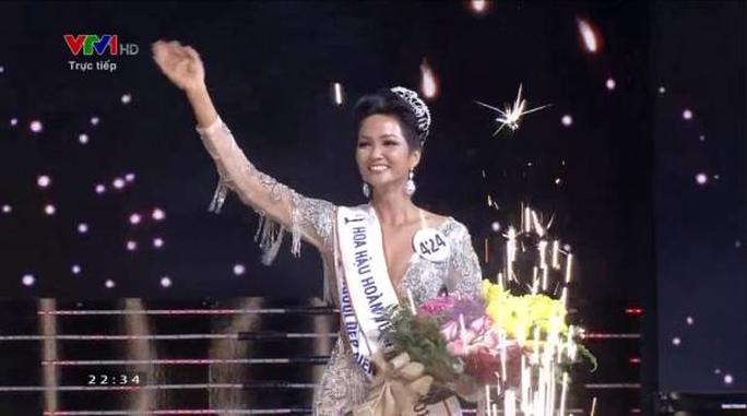 Hhen Niê đăng quang Hoa hậu Hoàn vũ Việt Nam - Ảnh 2.