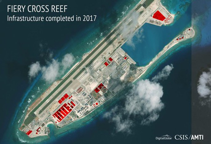 Trung Quốc bị cáo buộc liên tiếp trên biển Đông - Ảnh 1.