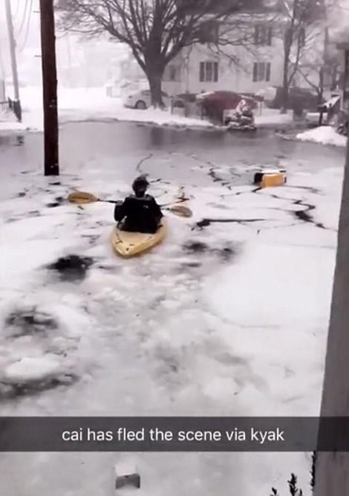 Nước Mỹ trong mờ mịt mưa tuyết - Ảnh 8.