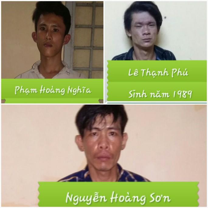 Băng trộm chuyên rinh két sắt ở Tiền Giang sa lưới - Ảnh 1.