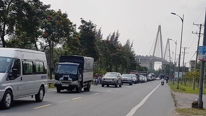 Từ ngày 17-1, cấm xe trên 16 tấn qua cầu Rạch Miễu - Ảnh 1.