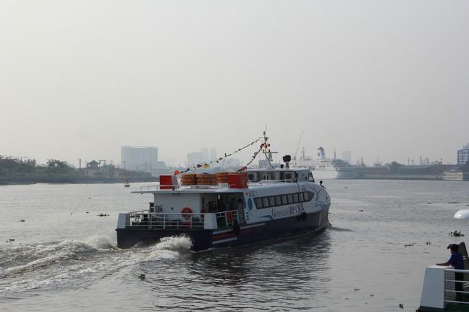 Khai trương tàu cao tốc đi từ TP HCM tới Vũng Tàu - Ảnh 4.