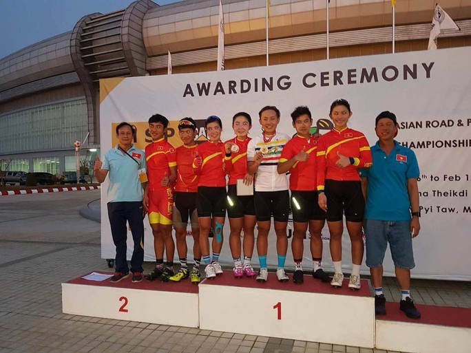 Nguyễn Thị Thật giành HCV xe đạp châu Á 2018 - Ảnh 2.