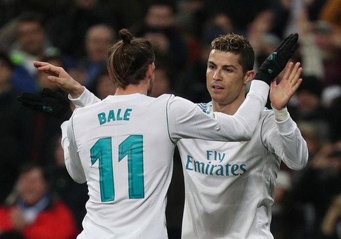 Hat-trick Ronaldo đưa Real Madrid trở lại đường đua - Ảnh 5.