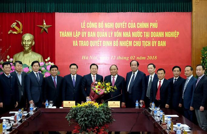 Thủ tướng trao quyết định bổ nhiệm Chủ tịch Ủy ban Quản lý vốn Nhà nước tại DN - Ảnh 2.