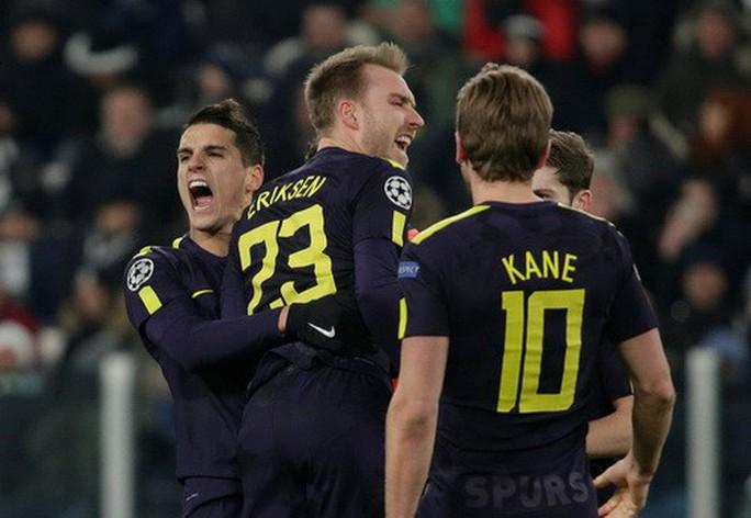 Tottenham ngược dòng lấy điểm Juventus, Man City đại thắng Basel - Ảnh 4.