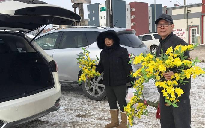 Người Việt ở Canada đổ xô đi mua lá chuối, cau trầu - Ảnh 3.